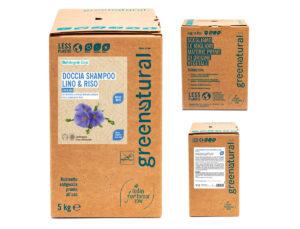 BIODETERGENTE – DOCCIASHAMPOO Lino & Riso