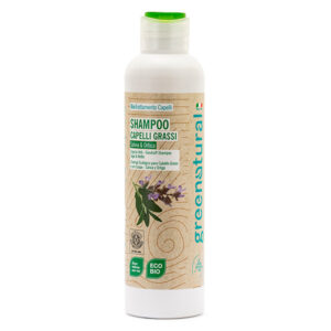 GREENATURAL Shampoo ANTIFORFORA SALVIA & ORTICA - ecobio - 250ml