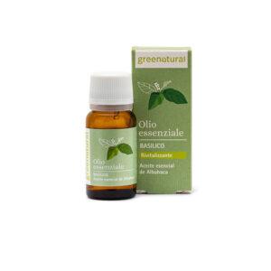 GREENATURAL Olio essenziale di Basilico