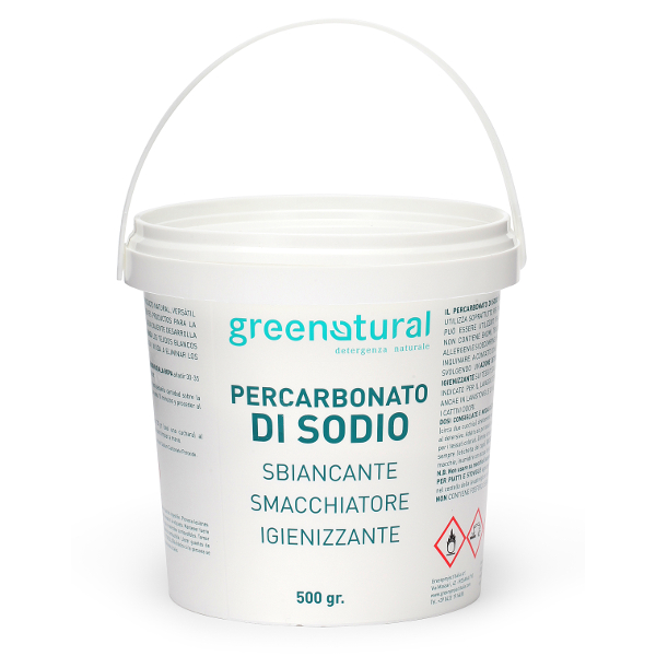 GREENATURAL Percarbonato di Sodio - 500g