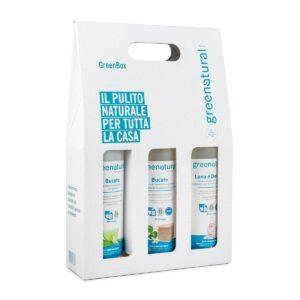 GreenBox – Ecoregalo Greenatural Kit casa bucato lavanda e delicati